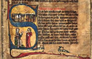 Norwegian illuminated manuscript GKS 1154 2º